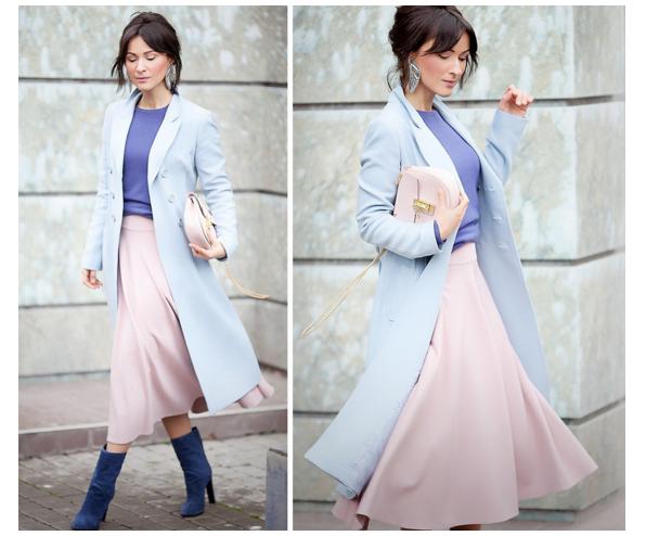 azul serenidad y rosa cuarzo
